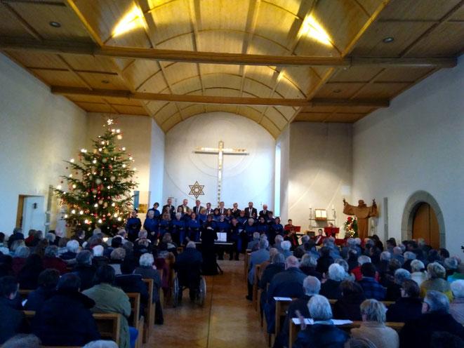 Weihnachtskonzert in der Pfarrkirche Bernhardswald