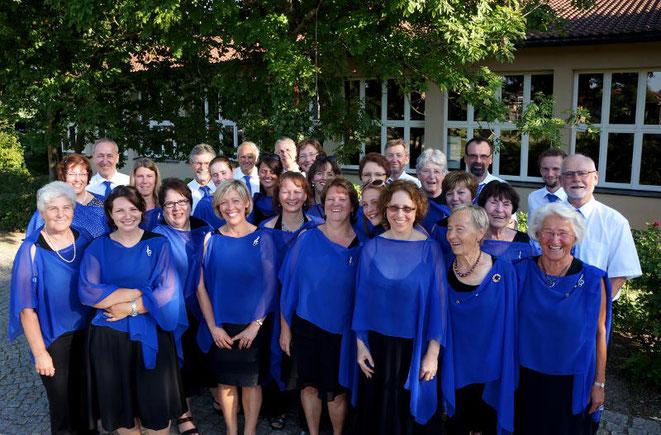 Gruppenfoto Chor Singkreis Bernhardswald 2014