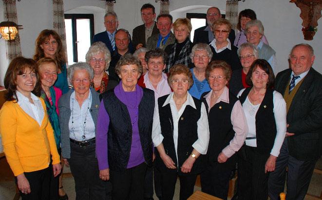 Gruppenfoto 30 Jahre Singkreis
