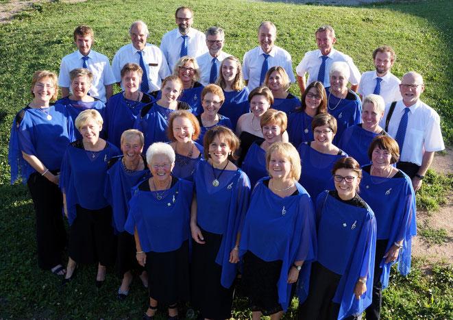 Chor des Singkreis Bernhardswald 2017