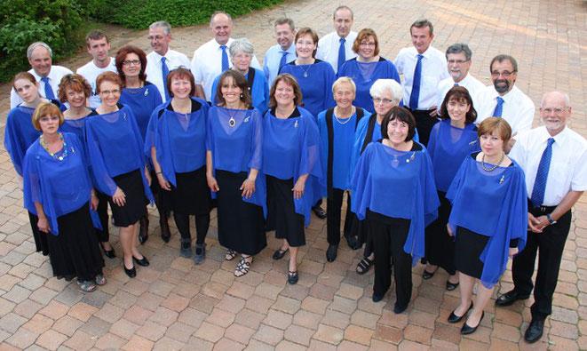 Gruppenfoto Chor Singkreis Bernhardswald 2012