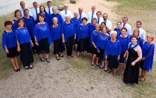 Gruppenfoto Singkreis Bernhardswald 2015