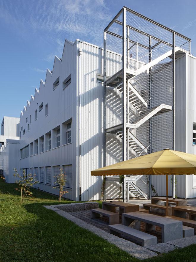 Erweiterung der Schule für Gestaltung in Aarau / Planung und Ausführung