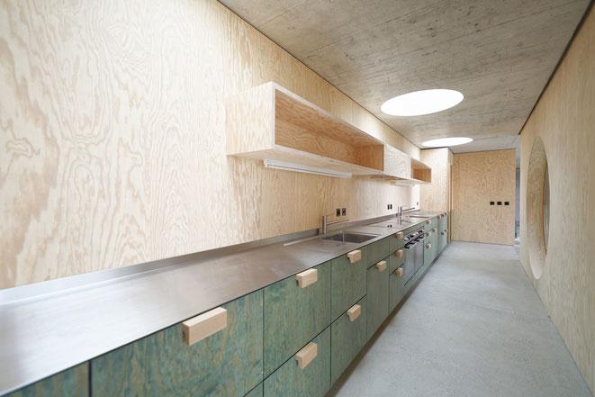 Neubau Stadterle Basel für die Genossenschaft Zimmerfrei