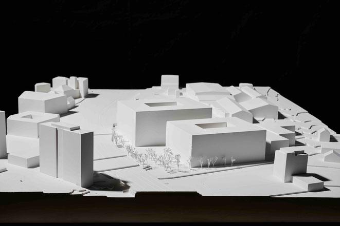 Neubau BIT Etappe 1 + 2 - Volumenmodell