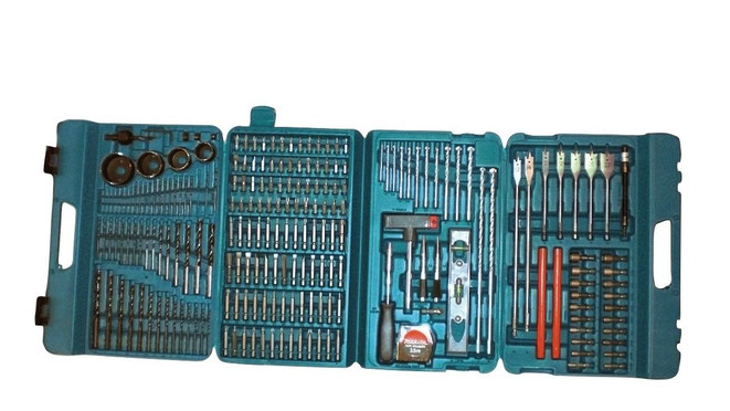 Makita Entfernungsmesser Erfahrung : Werkzeugbox makita p 44046 bohrer bit set top werkzeugkasten