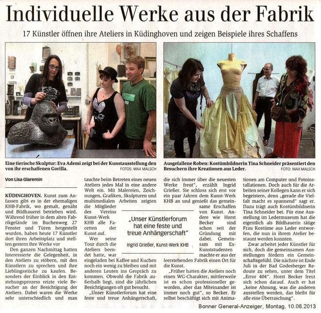 Offene Ateliers 09.06.2013