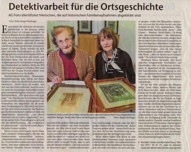 Esslinger Zeitung vom 15.02.2018