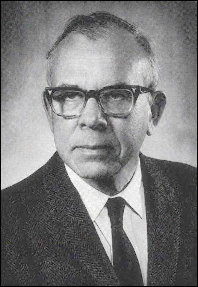 Professor Burris B. Cunningham
