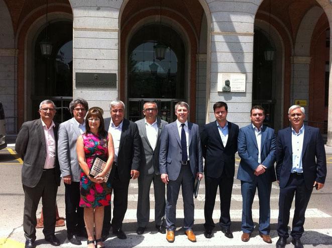 Any 2013. Ministeri de Foment (Madrid). Blai Peiró fou el representant de Projecte Oliva.