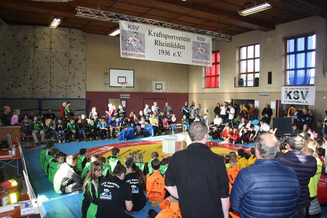 121 Teilnehmende waren bei den Meisterschaften in Rheinfelden. Für mehr Bilder - aufs Bild klicken!