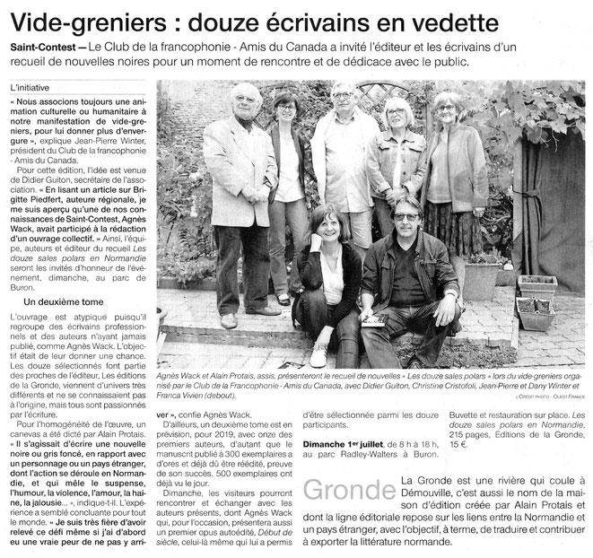 Ouest-France 28 juin 2018