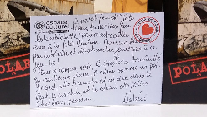Coup de coeur de Valérie, Espace culturel Leclerc Tourlaville