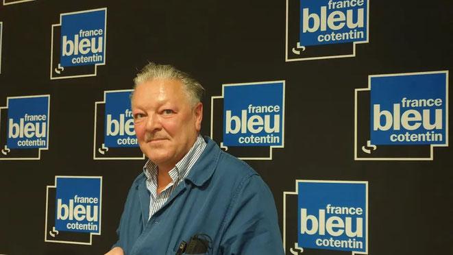 Interview de Rodolphe Geisler sur France Bleu Cotentin le 6 septembre 2021 à propos de Brume fatale