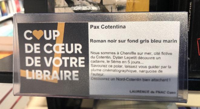 Coup de coeur de Laurence à la FNAC de Caen