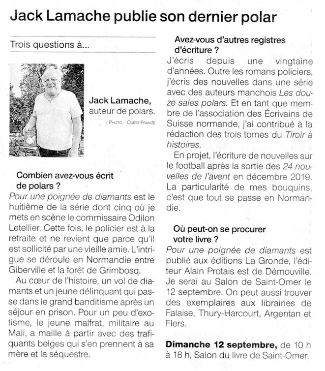 Ouest-France 06/09/2021