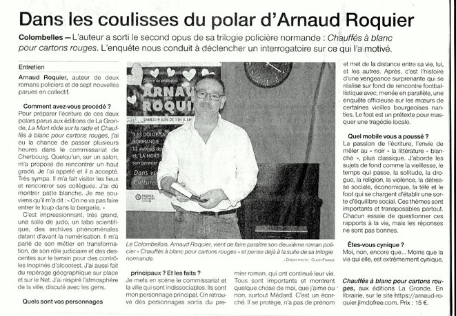 Ouest-France 18 mars 2019