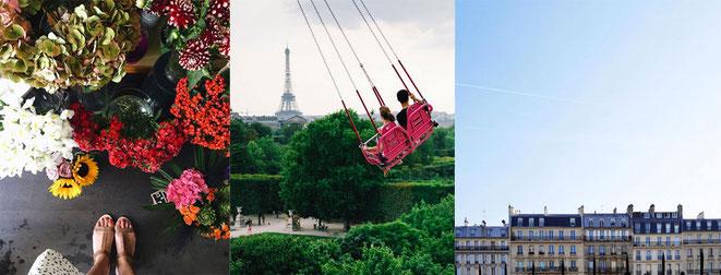 Meilleurs photos de Paris sur Instagram @clemobile, @vutheara et @hugokatsumi
