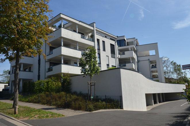 Aschaffenburg, Berliner Allee, hochwertige Wohnanlage mit 25 Eigentumswohnungen