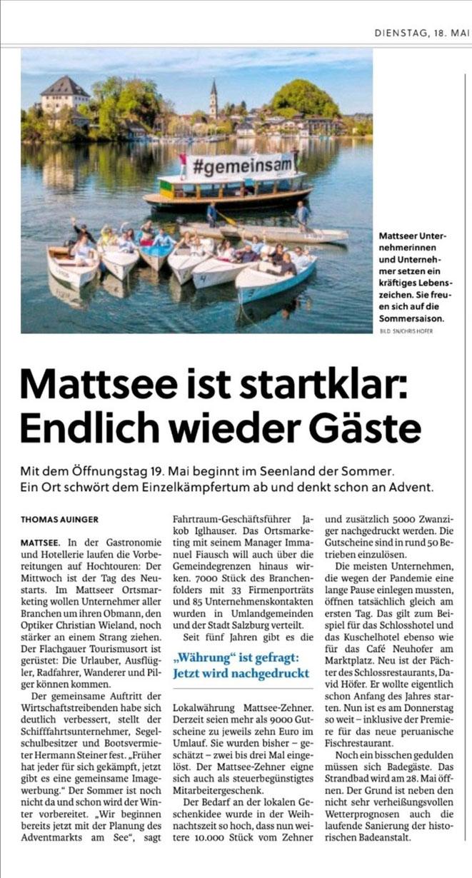 Salzburger Nachrichten 2021-05