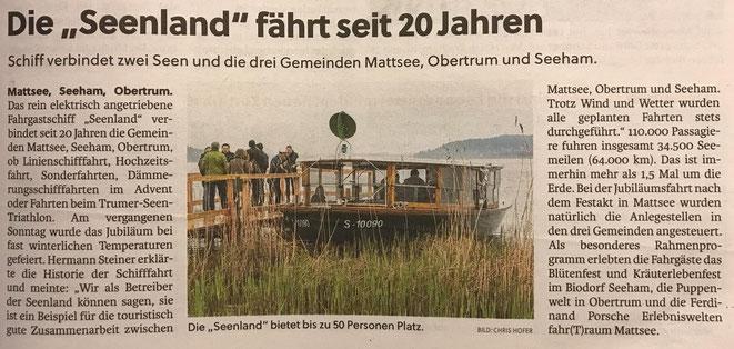 Flachgauer Nachrichten 2019-05-09
