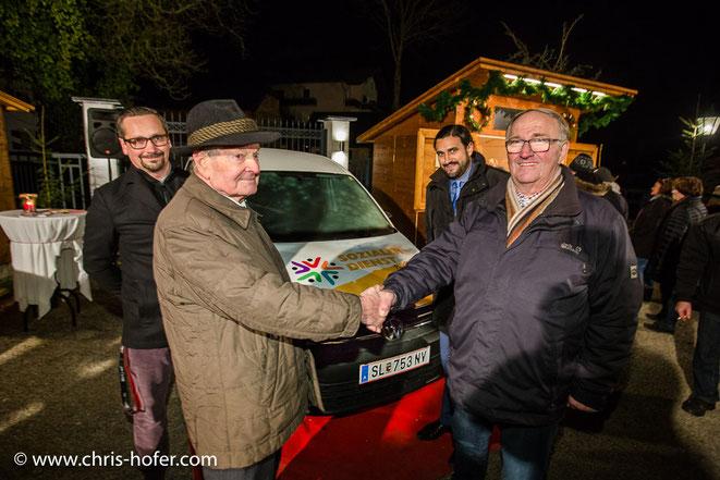 Das gesponserte Auto des Sozial Verein Mattsee ist schon seit zwei Jahren intensiv im Einsatz.