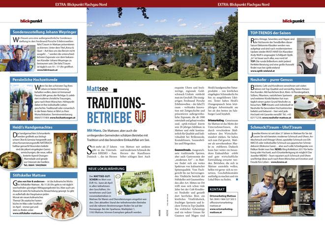 Weekend Magazin - Blickpunkt Flachgau Nord - März 2017