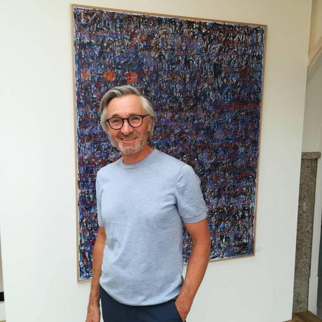 Unternehmer Roland Leimgruber (Ehegatte der Künstlerin)