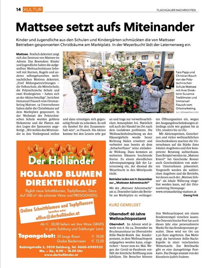 Flachgauer Nachrichten 2020-12-10