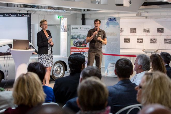 Geschäftsführerin Elisabeth Hiltermann von Kohl und Partner, COO Thomas Kirchenmajer (Liberty International Tourism Group)