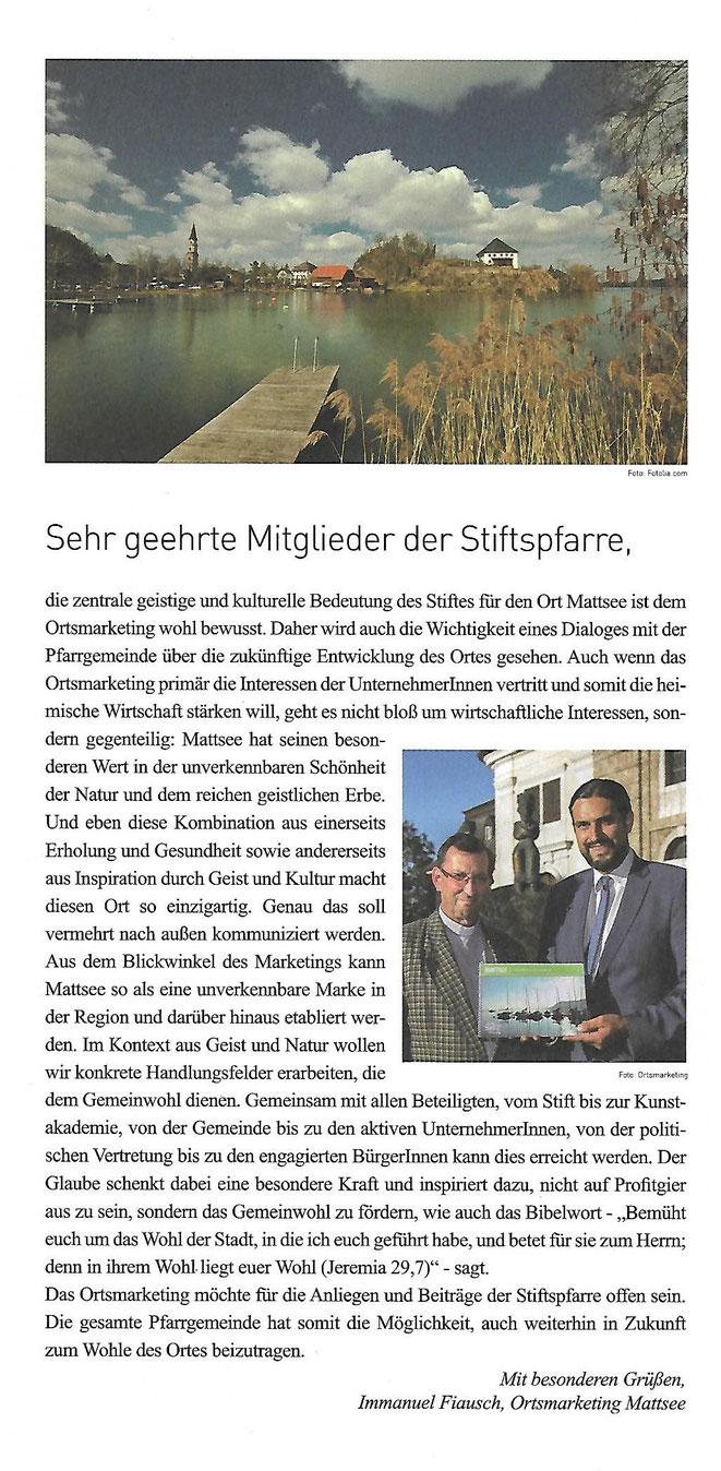 Mattseer Kirchenzeitung/ 2016-09