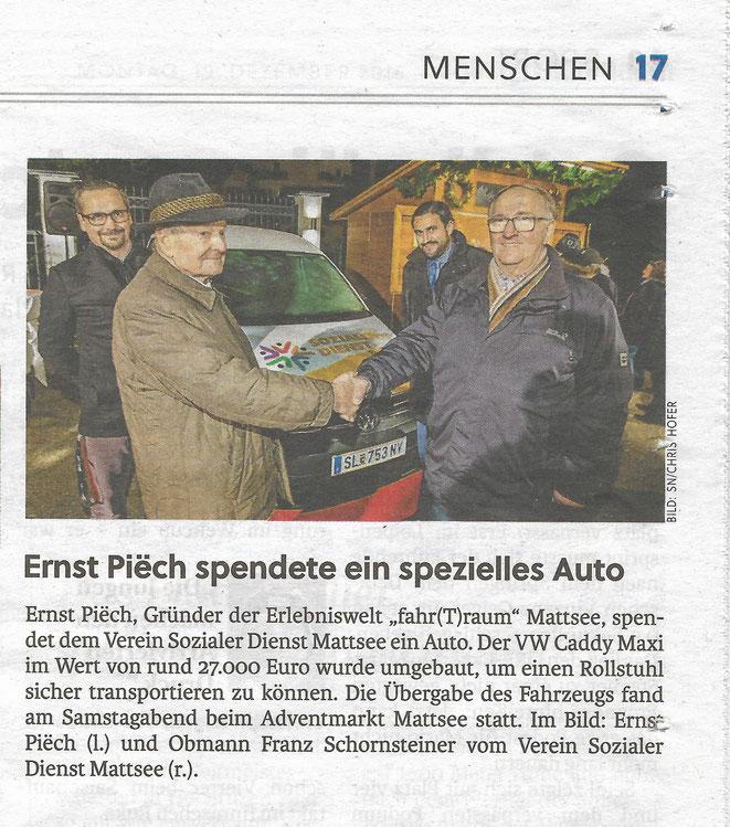 Salzburger Nachrichten 2016-12-19