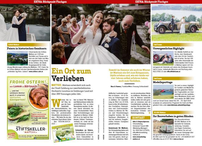Weekend Magazin - Blickpunkt Flachgau Nord - März 2018