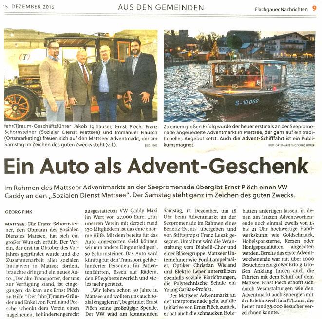 Flachgauer Nachrichten 2016-12-15