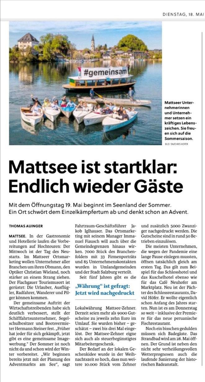 Salzburger Nachrichten 2021-05-18