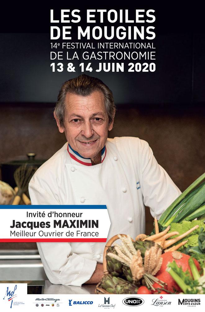 Agenda Canal Gourmandises - Les Etoiles de Mougin 2020 du 13 au 14 juin