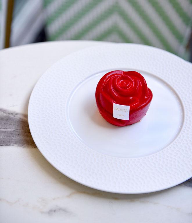 "la ""Rose d'Amour"" Saint-Valentin de Philippe Conticini"