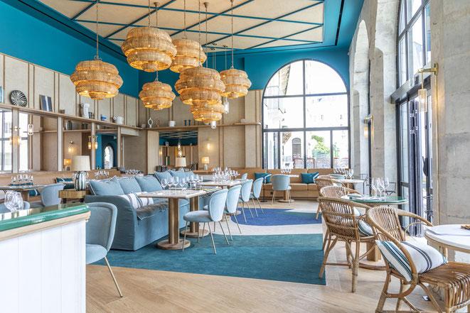 L'Hôtel-restaurant Café de Paris, ouvre à Biarritz. Maison Sarah Lavoine