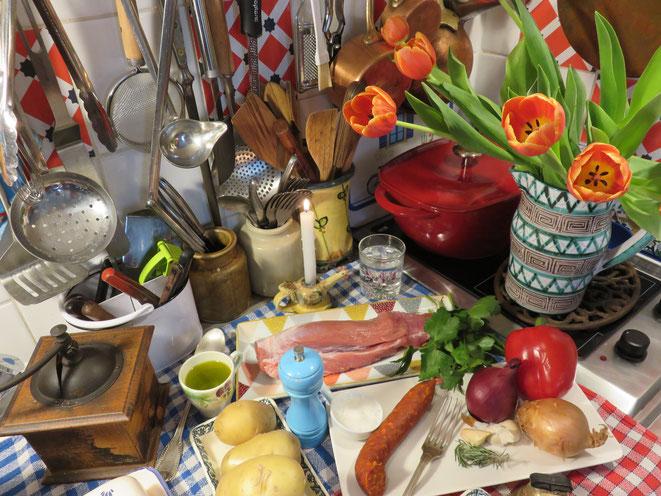 La cuisine de la Mère Mitraille sur Canal Gourmandises...