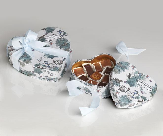 Saint-Valentin 2020 : Coeur de Chocolat par Sébastien Gaudard