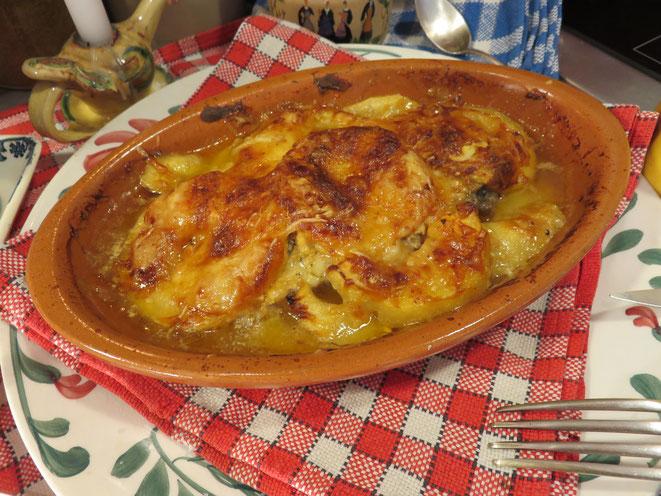 Côtelette de Porc aux Pommes de la Mère Mitraille - Canal Gourmandises