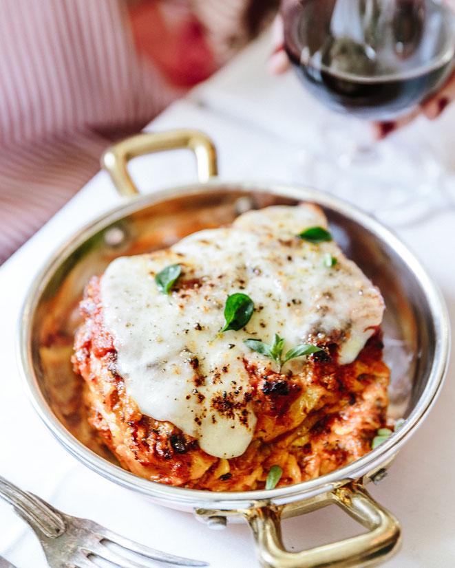 Lasagne al ragù di maiale de Big Mamma - Crédit photos : Joann Pai