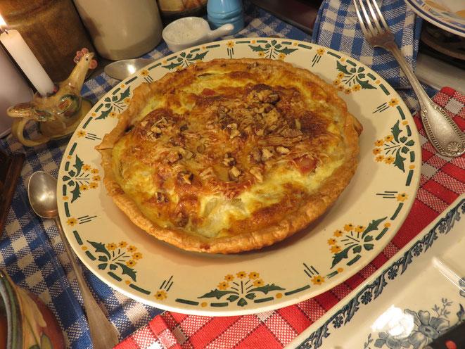 Canal Gourmandises - La tarte au Fenouil de la Mère Mitrail est un régal !