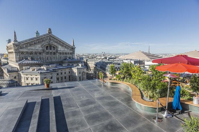 PARIS : Le chef Julien Sebbag s'installe sur la terrasse des Galeries Lafayette Paris Haussmann, CRÉATURES