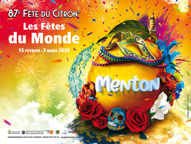 Fête du Citron de Menton du 15 février au 3 mars 2020 - Canal Gourmandises