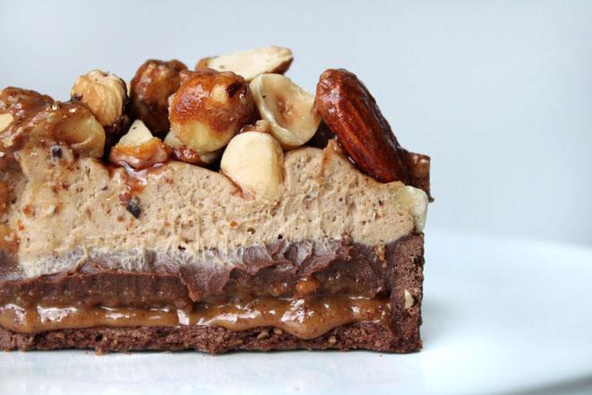 Tarte Chocolat Praliné de Philippe Conticini Paris