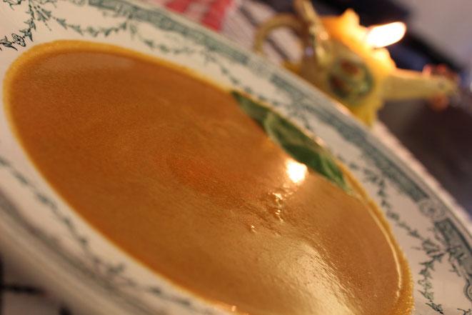 Velouté ou soupe de Potimarron au Miel - Photo : Cedric Beliard - Canal Gourmandises