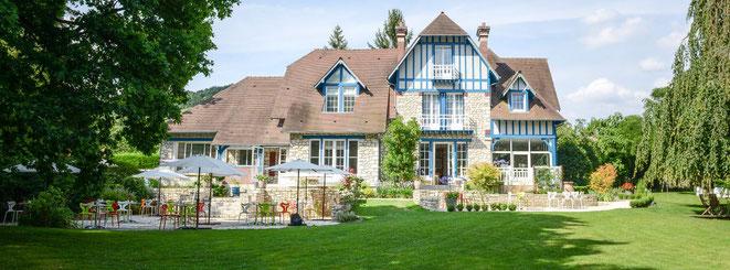 Hôtel et Restaurant Le Jardin des Plumes à Giverny dans l'Eure