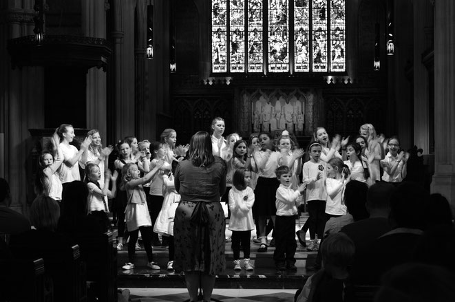 Performing at St James' Sussex Gardens at Voices of London 2015