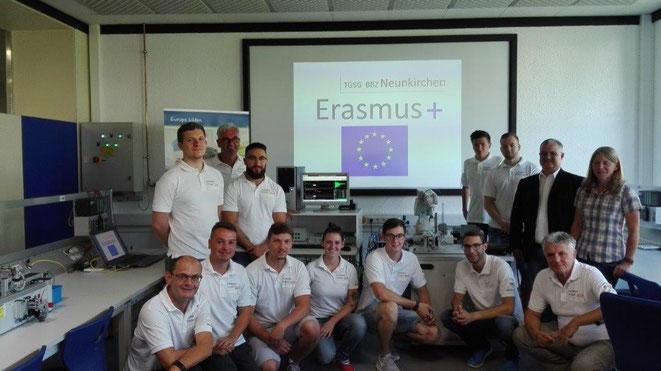Das Erasmusteam